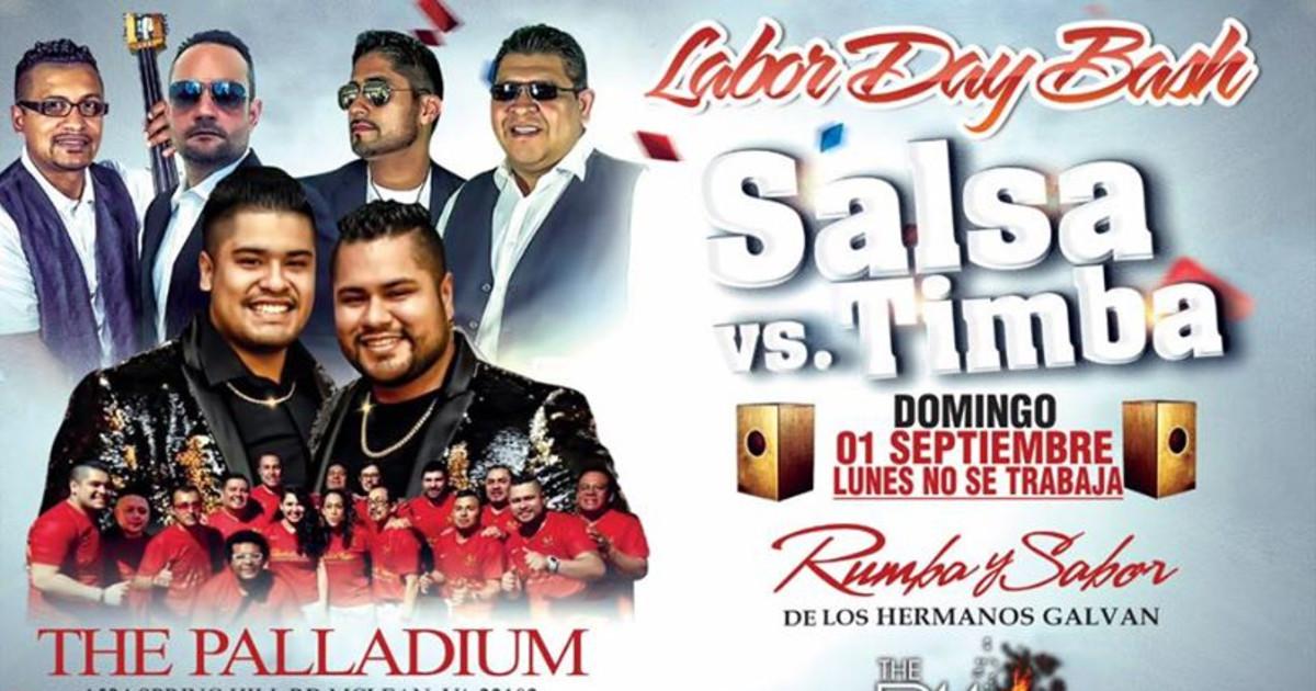 Salsa Vs Timba Labor Day Bash The Palladium Latin Dance Calendar