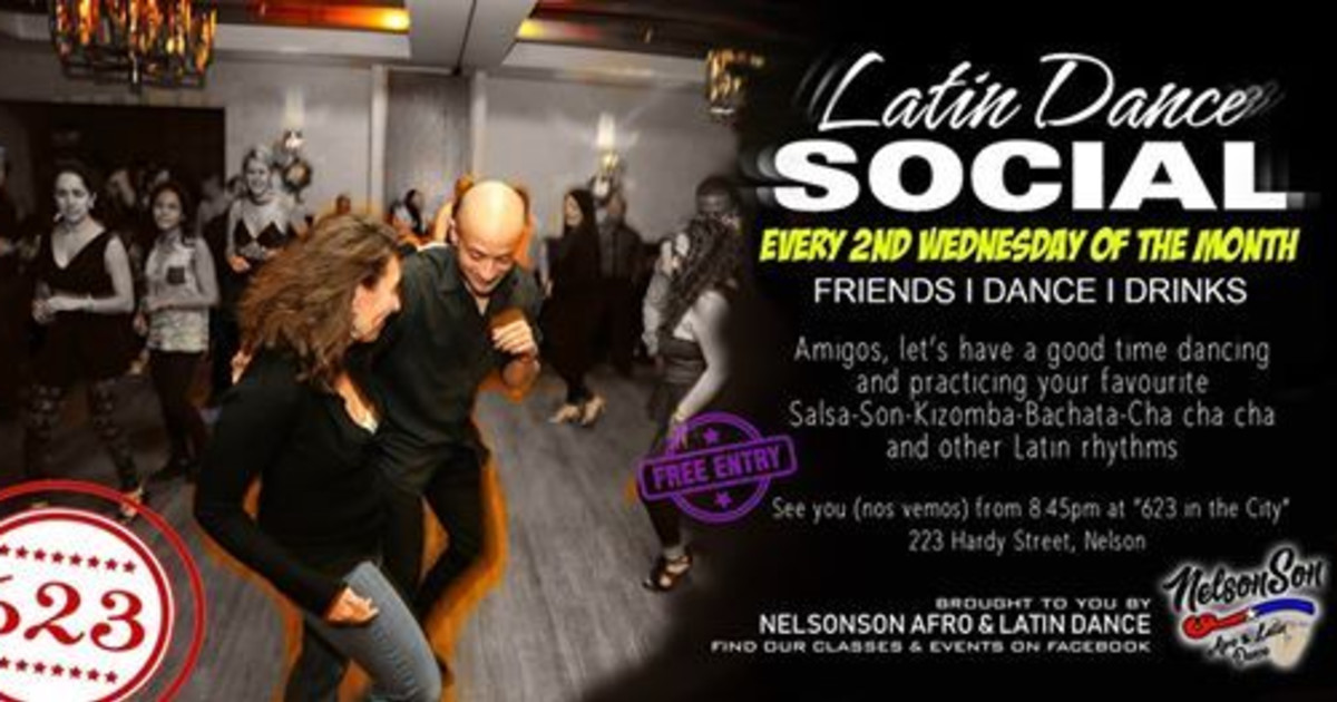Latin Dance Social (2nd Wed of the month) - Latin Dance Calendar