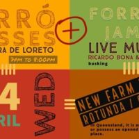 Free Forró classes / New Farm Park