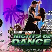 Salsa & Bachata at Sen Jones by Nights of Dance June 18th!