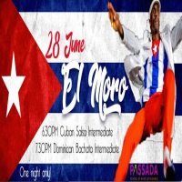 AN Evening WITH MORO – Cuban Salsa & Dominican Bachata workshops