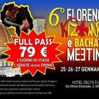 6 Florence Kizomba e Bachata Meeting 2019