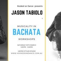 Bachata Musicality Workshop With Jason Tabiolo
