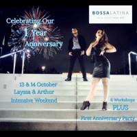 Bossa Latina Anniversary- Layssa & Arthur Intensive Weekend