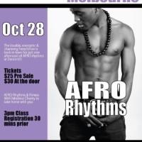 Belmondo In Melbourne. Afro Choreo Jam