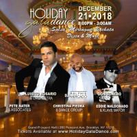 Holiday Gala Dance – Salsa, Merengue, Bachata, Disco & More