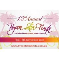 12th Annual Byron Latin Fiesta – $10 discount – 3rd to 5th Nov 2017