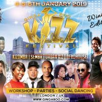 Ginga Boo Kizz Festival UK/ London – Winter Edition + £5 OFF Promo Code