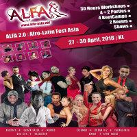 ALFA 2.0 : Afro-Latin Fest Asia 2018 – 5% discount