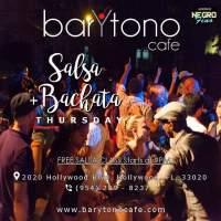 Salsa Bachata Thursdays at BarYtono Cafe in Hollywood