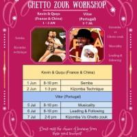 Kevin & Ququ Semba And Kizomba Workshop In HK