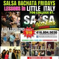 GTA TORONTO SALSA BACHATA DANCE LESSONS – Little Italy