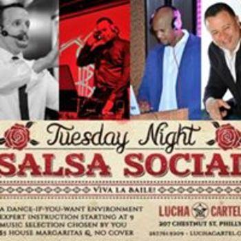 Tuesday Night Salsa Social at Lucha Cartel