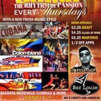 Salsa Thursday – Rhythm of Passion (Front Dance Floor)