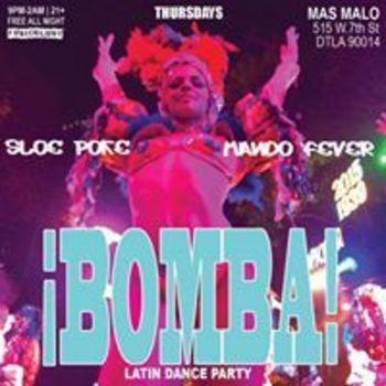 Bomba! Latin Dance Party | Thursday Nights at Mas Malo