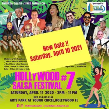 Hollywood Salsa Fest #7 – Melina Almodóvar invita!