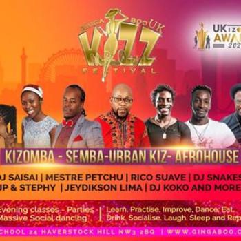 Ginga Boo Kizz Festival UK  2022