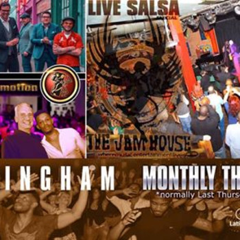 LatinMotion *monthly* ★ LIVE SALSA Special ★ with DelCamino ★