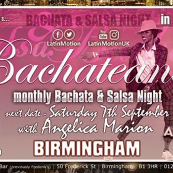 Sat 7 Sep ★ LatinMotion ★Bachateando★ at Acapella Birmingham