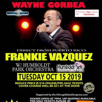 Tribute SALSA Tuesday ft Frankie Vazquez Tribute to Wayne Gorbae