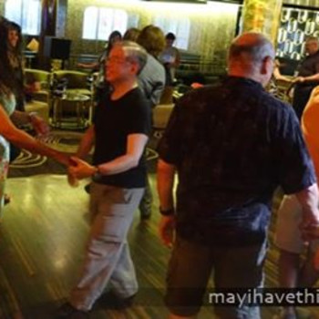 Rumba & Salsa Lesson with Open Dancing