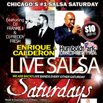 Live Salsa Saturday – ft. Enrique Calderon & HPO on stage