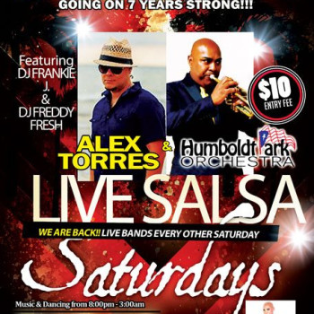 Live Salsa Saturday – ft. Alex Torres & HPO on stage