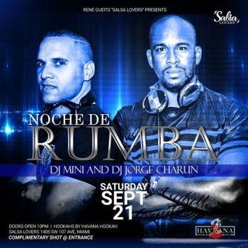 Noche De Rumba at Salsa Lovers