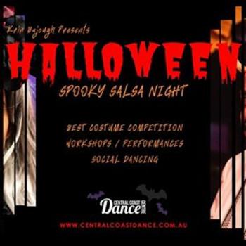 Halloween Spooky Salsa Party!