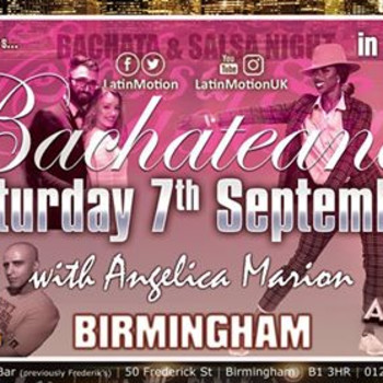 Fri 4 Oct ★ LatinMotion ★Bachateando★ at Acapella Birmingham