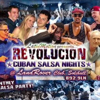 Sat 26th Oct ★ LatinMotion ★Revolucion★ Cuban Salsa Nights ★