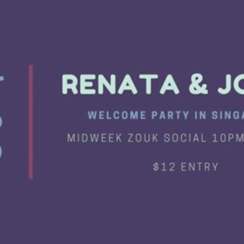 Midweek Zouk – Welcome Party with Renata Pecanha & Jorge Peres