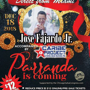 Parranda Salsa Tuesday – Ft Jose Fajardo Jr/Caribe Project