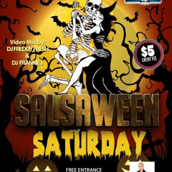 Salsaween Saturday at Dylan's – Free B4 9:30pm!