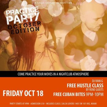 Practice Party `October Edition` at Salsa Lovers