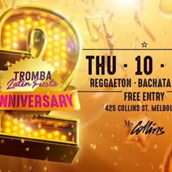 2nd Anniversary – Tromba Latin Fiesta – Ms Collins