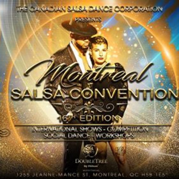 Convention de Salsa de Montreal 2020 Montreal Salsa Convention