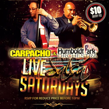 Live Salsa Saturday – ft. Carpacho & HPO on stage