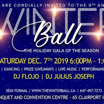 Winter Ball Dinner Dance gala 2019