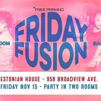 Friday Fusion at Estonian House
