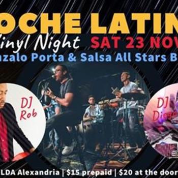 NOCHE LATINA – VINYL & LIVE band special