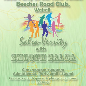 Salsa Versity & Smooth Salsa Party at Beeches Club, Walsall.