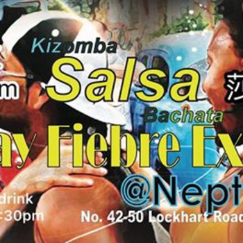 Salsaman Friday Fiebre Exotica Salsa Party at Neptune 3