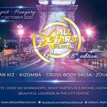 All Stars Festival 2020, Budapest ☆ 8th edition ☆