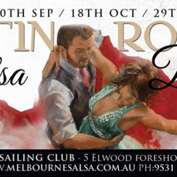 The LATIN ROOM at The Elwood Sailing Club – BEACH PARTY