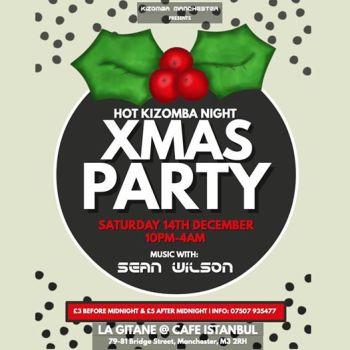 Christmas Kizomba Special At Hot Kizomba Night with Sean Wilson