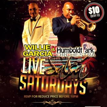 Live Salsa Saturday – ft. Willie Garcia & HPO on stage