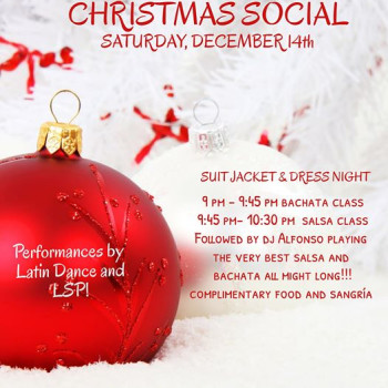Christmas social by Liquid Silver December 14th