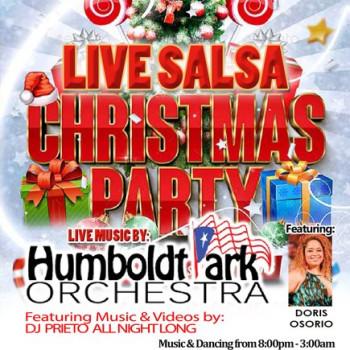 Live Salsa Christmas Party– ft. Doris Osorio & HPO on stage