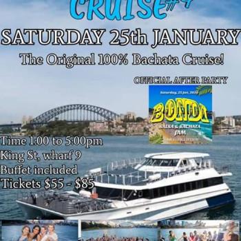 Sydney Bachata Cruise#4 ft Bondi Salsa & Bachata Jam After Party